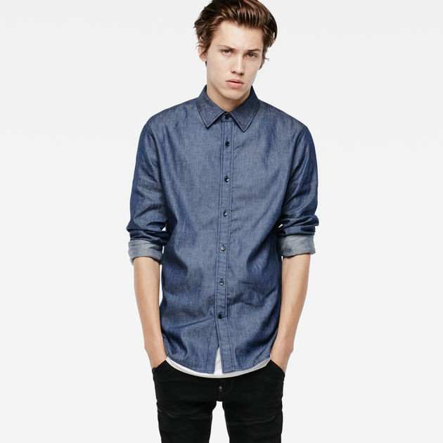 G-Star Raw Mens Core Shirt L//S