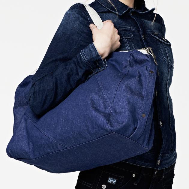 a4772e0b6d8a G-Star RAW® valerie handbag branch dnm rw Dark blue front flat ...