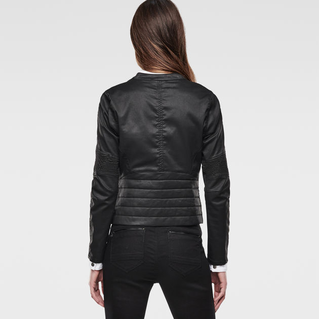 5620 Custom Biker Zip Jacket | Rinsed | Femmes | G Star RAW®