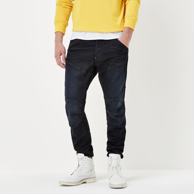 5620 G Star Elwood 3D Tapered Trainer Jeans
