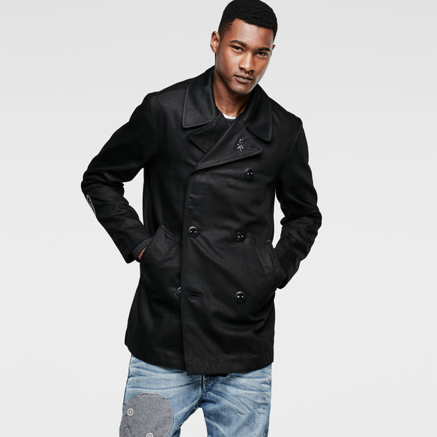 RAW for the Oceans Pea Coat