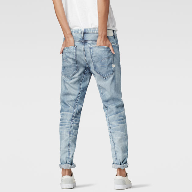 RAW for the Oceans Type C 3D Low Boyfriend Jeans