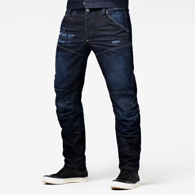 1b4acc1012f G-Star RAW® 5620 G-Star Elwood 3D Low Tapered Jeans Dark blue ...