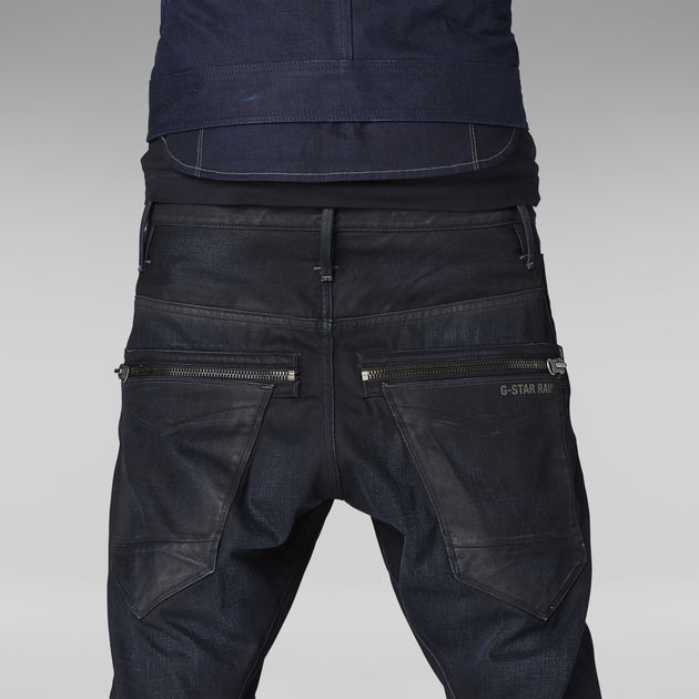 Arc Zip 3D Loose Tapered Jeans