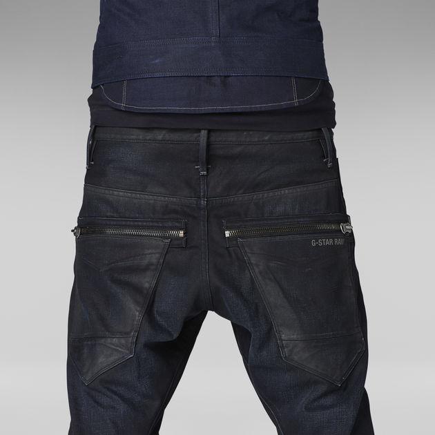 G-Star Raw Mens New Arc Zip 3D Low Jean In Effer Denim