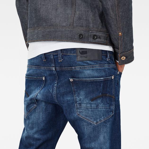 Accel Stretch Denim G-Star Raw Revend Straight Jeans