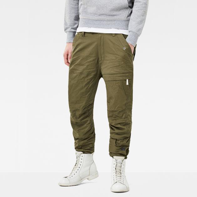 390540f49a0 Rackam Tapered Cargo Pants   Dark Shamrock   Men   G-Star RAW®