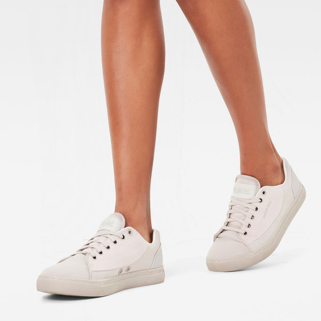 Thec Low Sneakers | White | G Star Sale Women | G Star RAW®