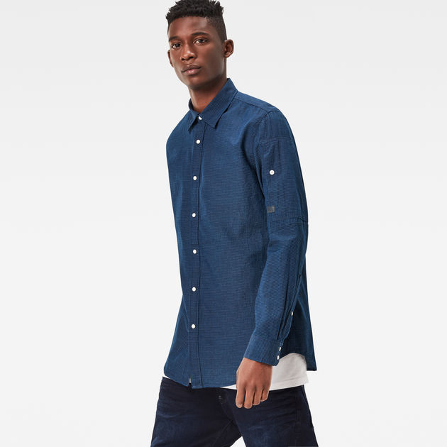 3f42214d2 Stalt Clean Denim Shirt