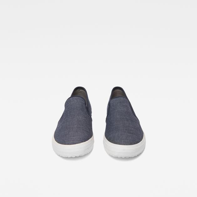 Kendo Slip-On Sneakers | Dark Navy | G