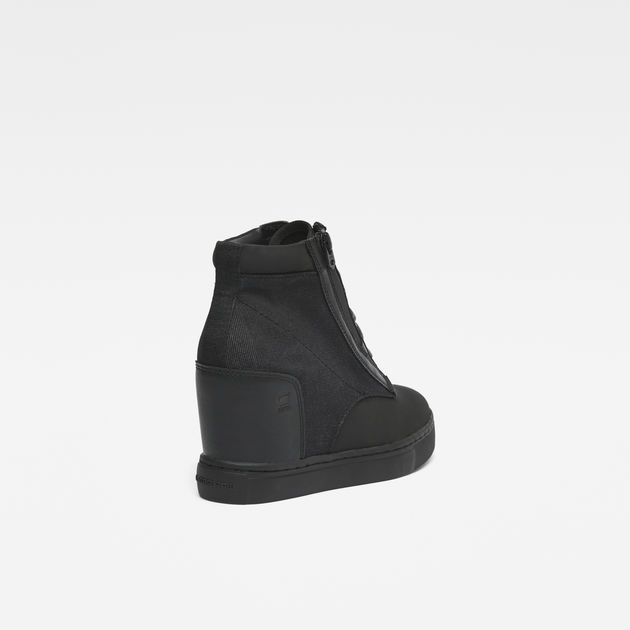 353a8d76342 Pristel Zip Wedge Sneakers