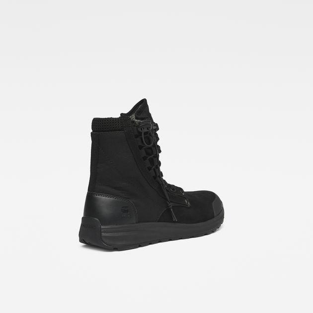 Cargo High Sneakers | Black | Men | G