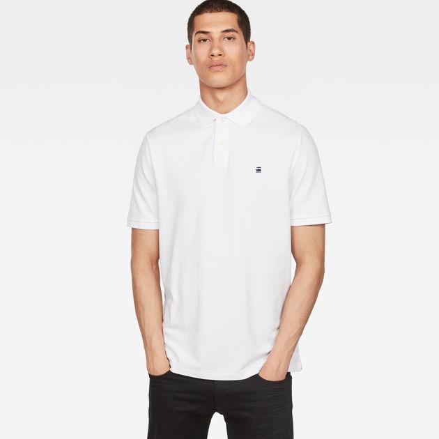 Dunda Polo Slim T-Shirt | White | G-Star