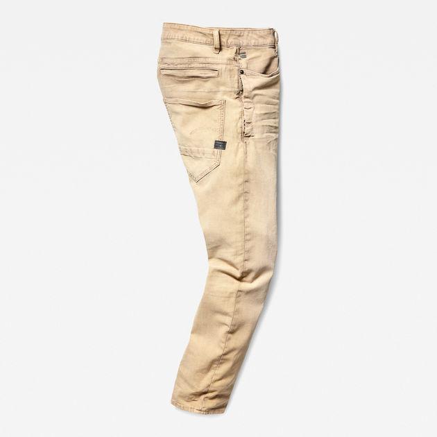 G STAR RAW D Staq 3D Straightapered Coj Jeans für Herren Beige