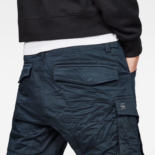 G Star Legion Blue Rovic Zip 3D Tapered Pants D02190 5126 862