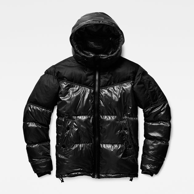 4d3dbb38e32 Whistler Hooded Quilted Jacket | Dark Black | Men | G-Star RAW®