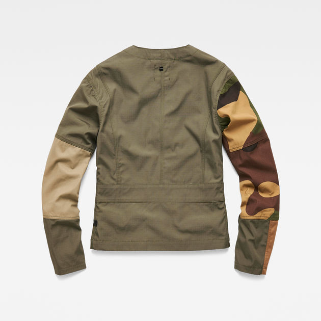 Aefon Field Tone Mix Overshirt