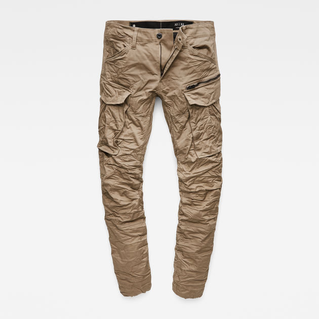 a8b2e606c864 Rovic Zip 3D Tapered Cargo Pants