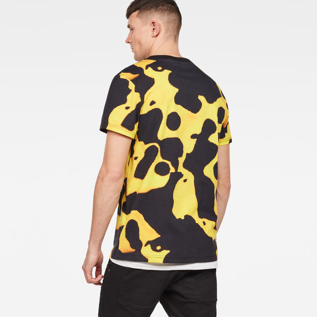 30888dbac Fian Bumble Frog Patterned T-Shirt   G-Star RAW®