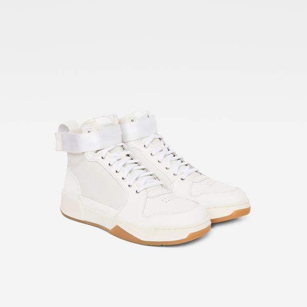 Rackam Yard High Sneaker   White   G