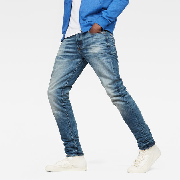 G Star Raw 3301 Straight Mens Jeans Straight leg Button fly