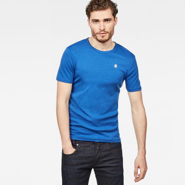 Daplin T Shirt   Hudson Blue Heather   Men   G Star RAW®