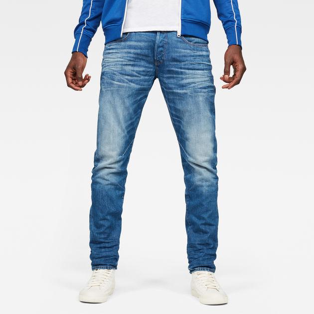D Staq 5 Pocket Straight Jeans Khaki Hombres G Star Raw