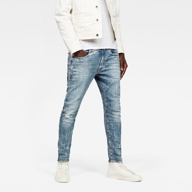 321b8657234 D-Staq 3D Skinny Jeans | Light Vintage Aged Destroy | G-Star RAW®