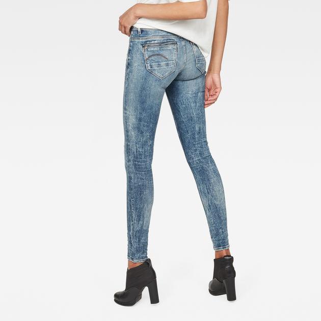 674b9d79a70484 Midge Zip Mid-Waist Skinny Jeans