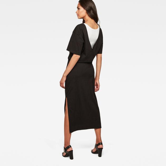 Bohdana Dress Dark Black G Star Raw