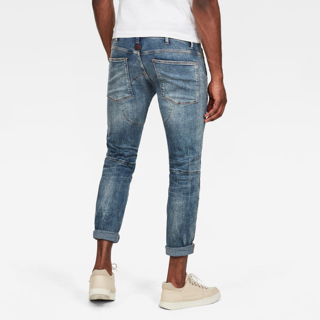 48ed24c107b 5620 3D Skinny Jeans   Light Vintage Aged Destroy   G-Star RAW®