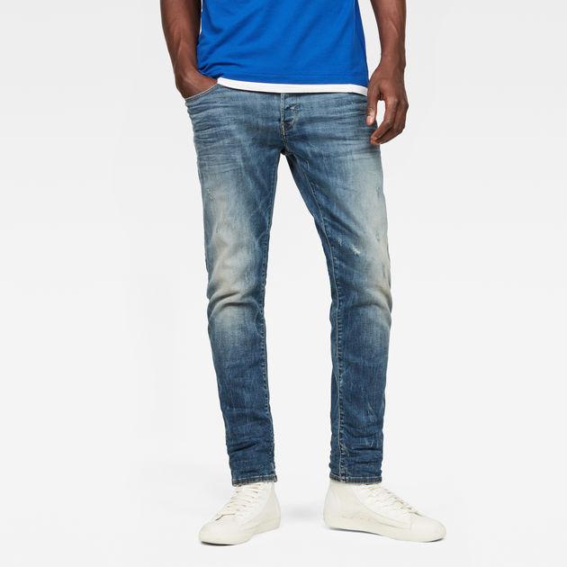 3301 Slim Jeans | Dark Aged Cobler | Hommes | G Star RAW®