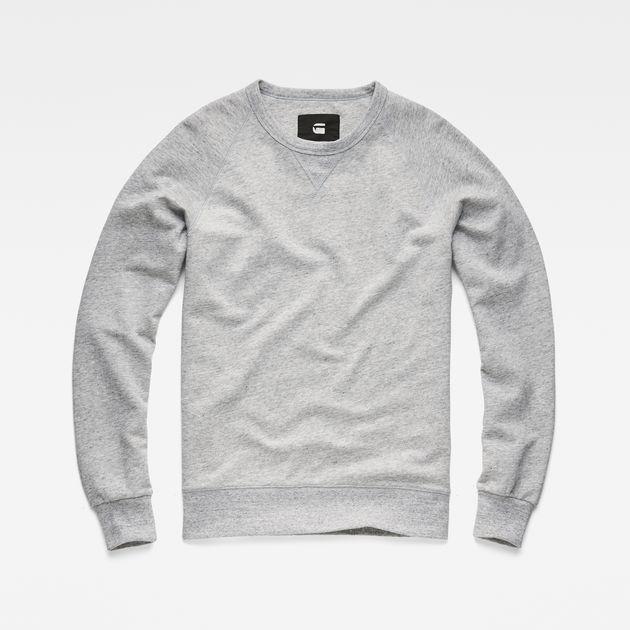 Toublo Sweater | Platinum Heather | Men | G Star RAW®