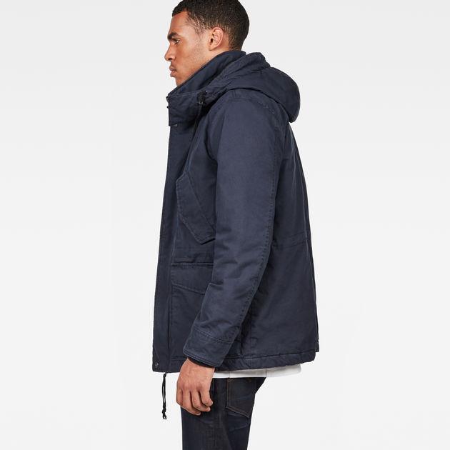 Vodan Padded Hooded Jacket