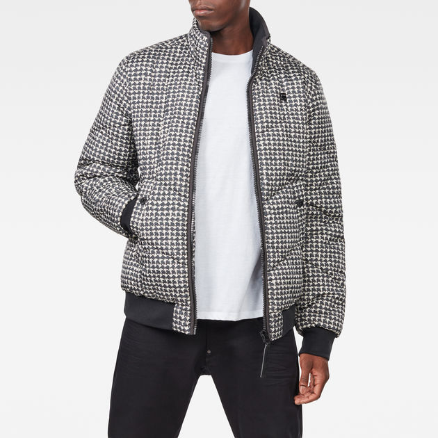 G-Star Whistler Meefic Quilted Bomber Navy Jacket