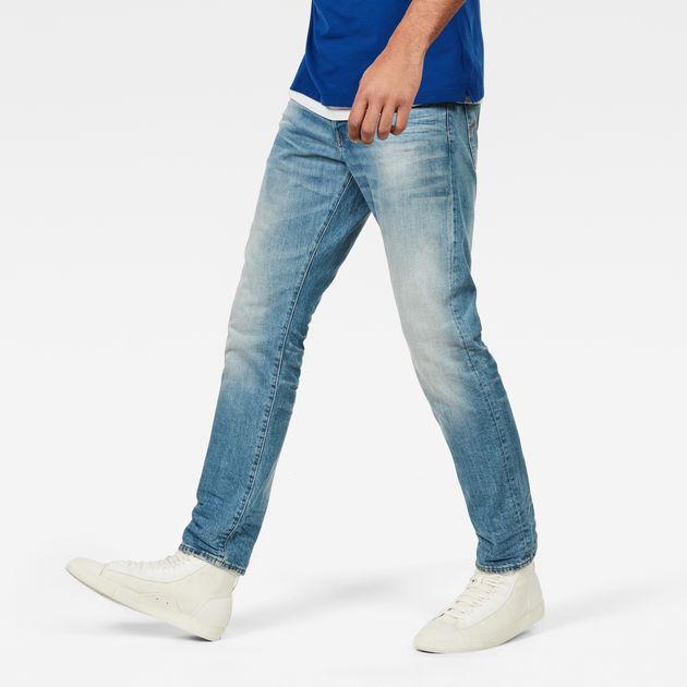 f172355e 3301 Tapered Jeans Medium Vine Aged Men G Star Raw