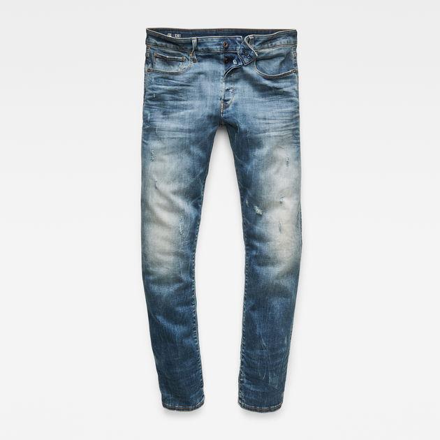 36c40b3e14a 3301 Slim Jeans   Vintage Medium Aged Small Destroy   G-Star RAW®
