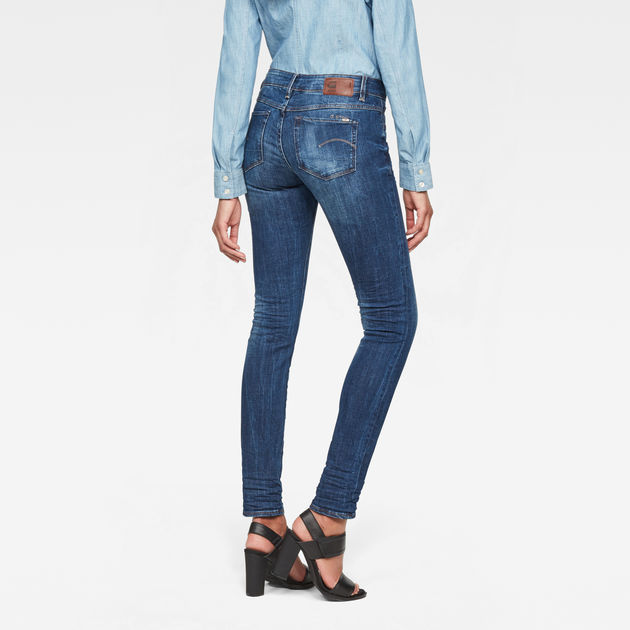 3301 Contour Skinny Jeans | Dark Aged | Femmes | G Star RAW®