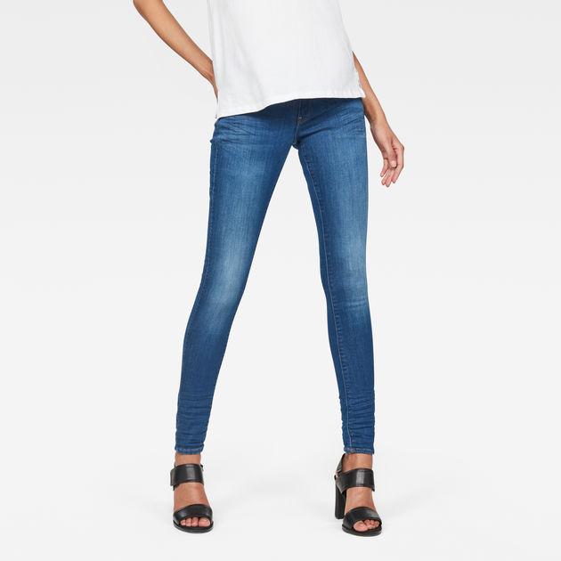 29bb6056385 Lynn Mid-Waist Skinny Jeans