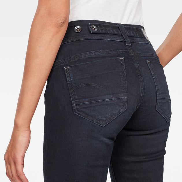 404ab72e4 Midge Saddle Mid Waist Straight Jeans