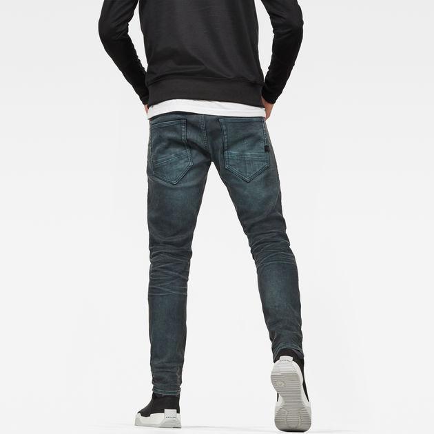 G-Star Men/'s D-Staq 5 Pocket Slim Fit Jeans Blue