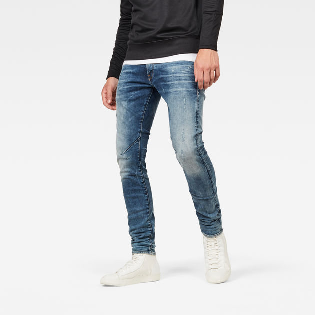 D Staq 5 Pocket Skinny Jeans | Dark Shamrock | G Star RAW®
