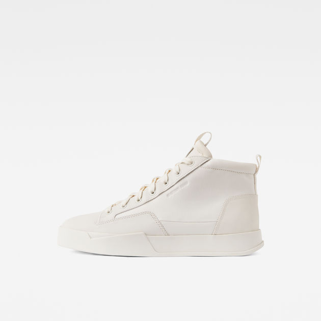 39e204a75b0 Rackam Core Mid Sneakers | White | Men | G-Star RAW®