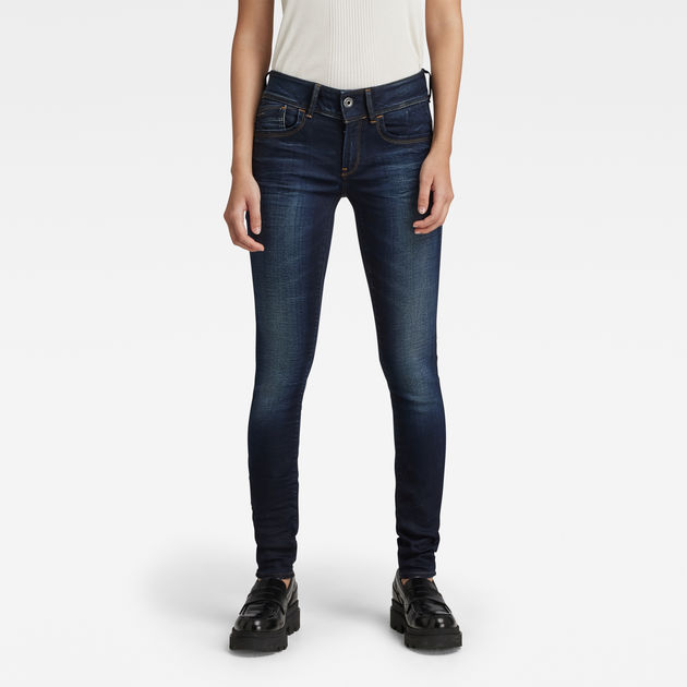d8d947d6fca Lynn Mid Waist Skinny Jeans | Medium Aged | Women | G-Star RAW®