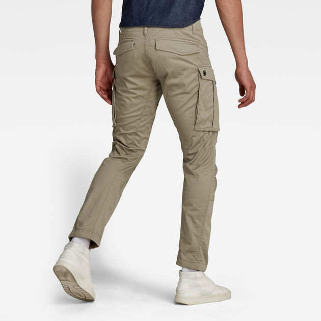 898b48f8ed1 Rovic Zip 3D Straight Tapered Pant | Dune | Men | G-Star RAW®