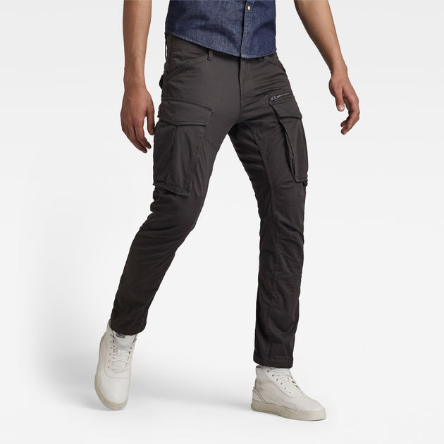 479c6e81d31 Rovic Zip 3D Straight Tapered Pant | Raven | Men | G-Star RAW®