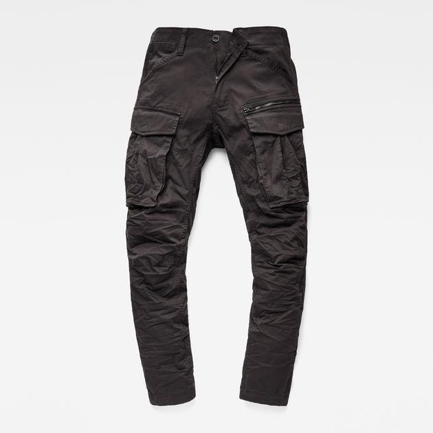Hypermoderne Rovic Zip 3D Straight Tapered Pant | Raven | Men | G-Star RAW® QR-79