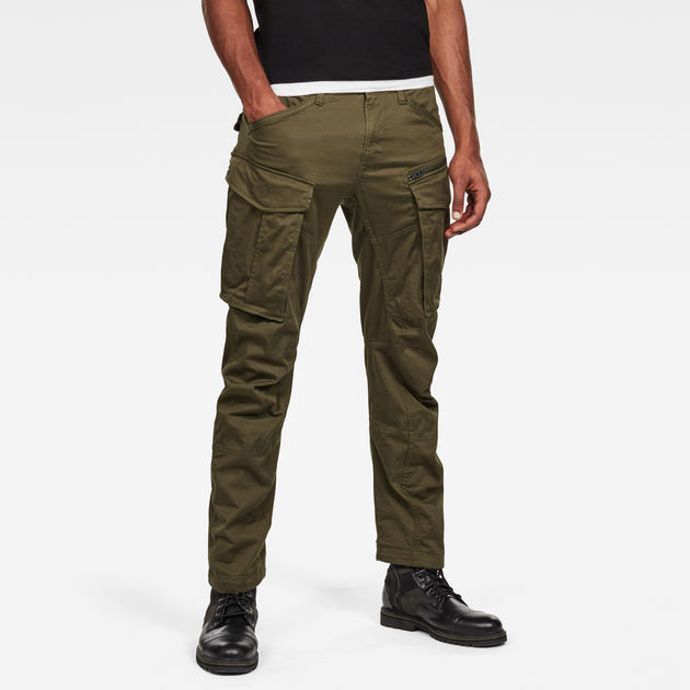 5c36b8b9ff9 Rovic Zip 3D Straight Tapered Pant | G-Star RAW®