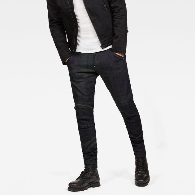 fbdc96df 5620 G-Star Elwood 3D Zip Knee Super Slim Jeans | G-Star RAW®