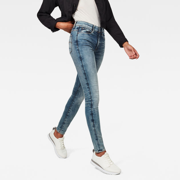 3301 Deconstructed High Waist Skinny Jeans